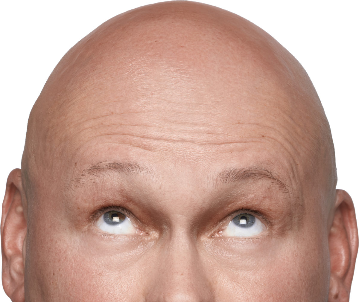 Bald Men Don't Use Hairspray. Do They?